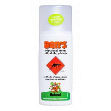 Ben´s Natural spray 100 ml - odpuzovaè hmyzu