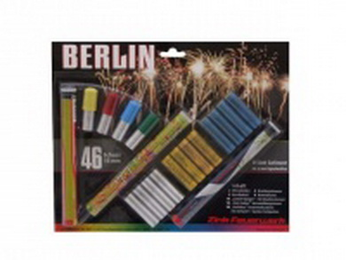 Pyro svìtlice Berlin set 46ks