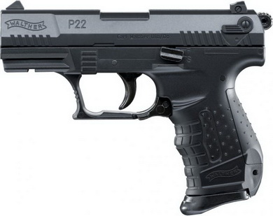 Airsoft Pistole Walther P22 èerná ASG