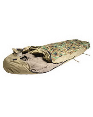 Pøevlek na spacák MODULAR z vrstveného laminátu WOODLAND