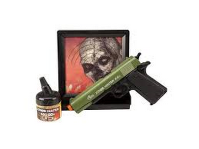 Airsoft Pistole Combat Zone Zombie Hunter SET ASG
