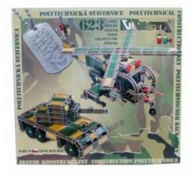 SEVA ARMY 2 Stavebnice polytechnická 623 dílkù