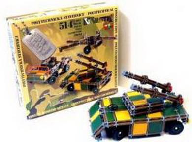 SEVA ARMY 1 Stavebnice - 514 dílkù