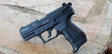 Plynová pistole Walther P22 èerná cal.9mm