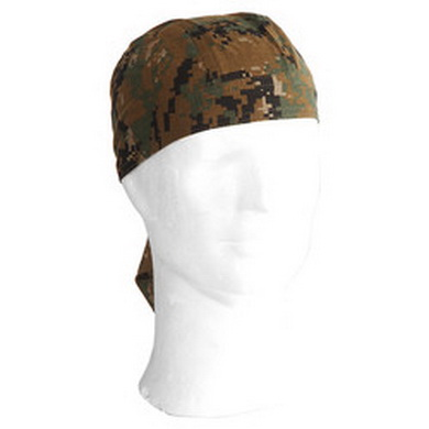 Šátek HEADWRAP DIGITAL WOODLAND - MARPAT