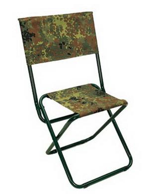 Židle s opìradlem flecktarn
