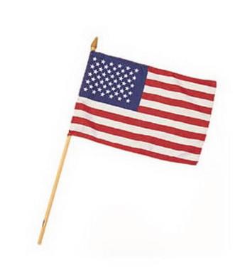 Vlajka na tyèce MINI AMERICAN