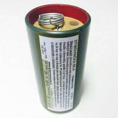 Dýmovnièka plechovka D130 bílý dým