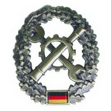 Odznak BW na baret INSTANDSETZUNG kovový