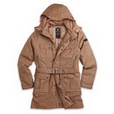 Kabát dámský XYLONTUM zimní KHAKI