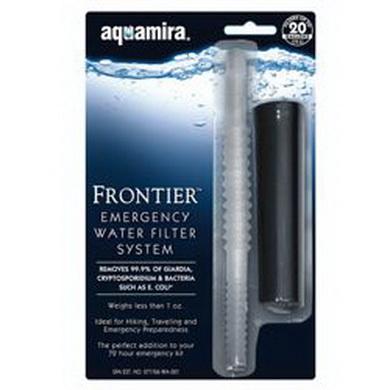Filtraèní systém na vodu Aquamira  Frontie