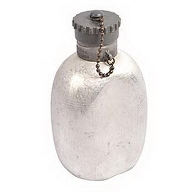 Láhev polní hliníková RAKOUSKÁ samostatná použitá