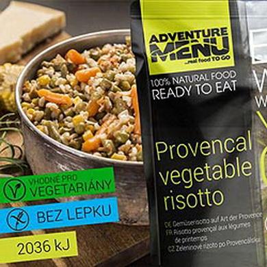 Zeleninové rizoto po Provensálsku - ADM sterilizované hotové jídlo