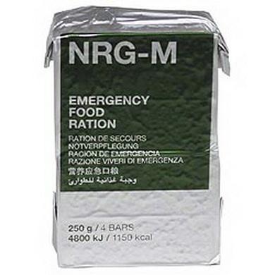 Nouzová dávka potravy NRG-M 250 g