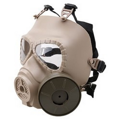Maska plynová AIRSOFT PÍSKOVÁ