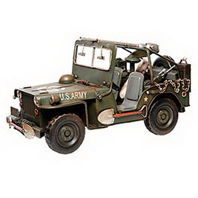 Model plechový US JEEP WILLYS 1940