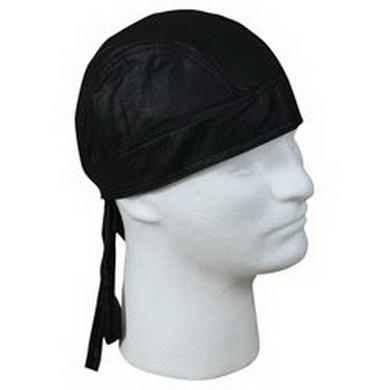 Šátek HEADWRAP kožený ÈERNÝ