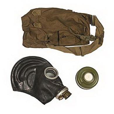 Maska plynová ruská taškou ÈERNÁ