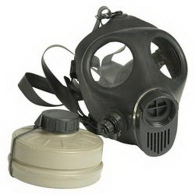 Maska plynová izraelská /otvor pro pití /