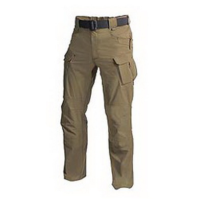 Kalhoty OUTDOOR TACTICAL sofshell MUD BROWN