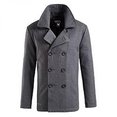 Kabát PEA COAT ANTHRAZIT - zvìtšit obrázek