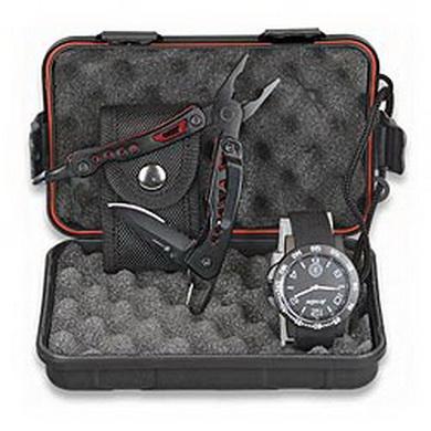 Set multifunkèního nože 33428 a hodinek v plastovém boxu - zvìtšit obrázek