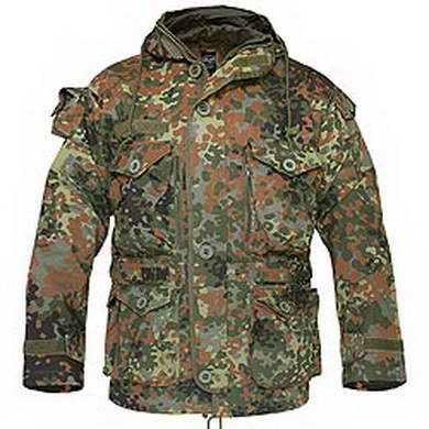 Bunda LIGHT WEIGHT s kapucí FLECKTARN