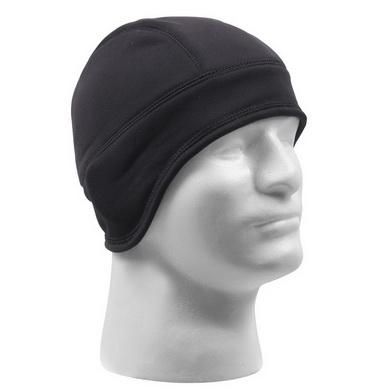 Èepice / vložka do helmy fleece ÈERNÁ - zvìtšit obrázek