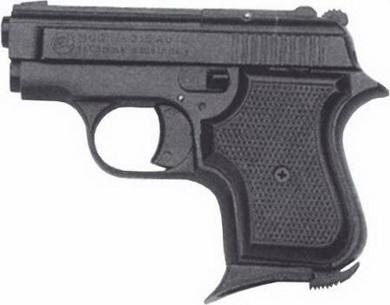 Plynová pistole Bruni 315 AUTO èerná cal.8mm