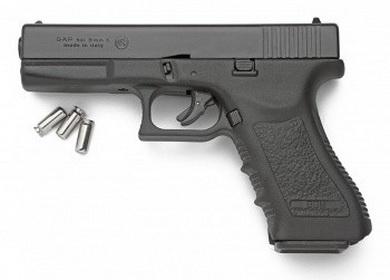 Plynová pistole Bruni GAP èerná cal.9mm