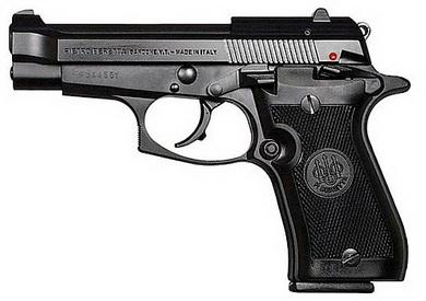 Plynová pistole Bruni 85 Cheetah èerná cal.9mm