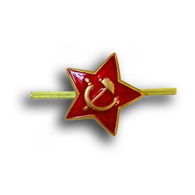 Odznak ruský hvìzda /srp a kladivo/