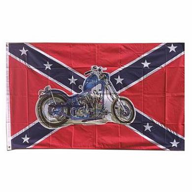 Vlajka REBEL MOTO