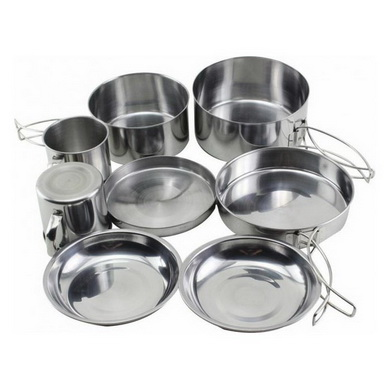 Sada nádobí pro kempování pro 2 osoby