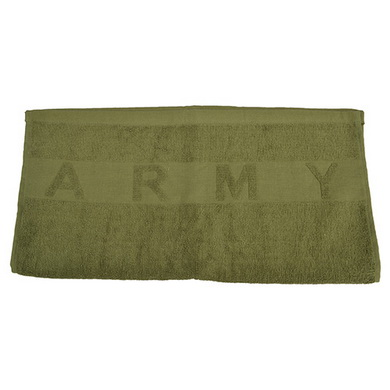 Ruèník ARMY froté 100x52 ZELENÝ