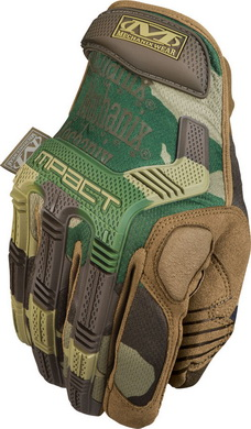 Rukavice Mechanix M-Pact New Woodland Camo