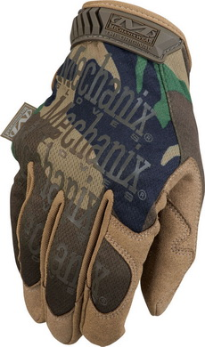 Rukavice Mechanix New Woodland Camo Original