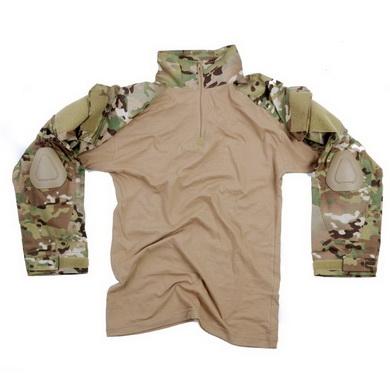 Košile UBACS WARRIOR taktická DTC/MULTICAM
