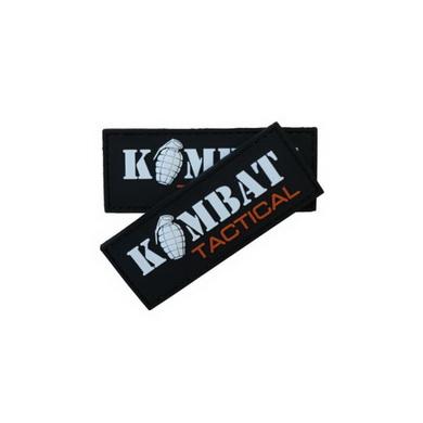 Nášivka plast KOMBAT TACTICAL s granátem VELCRO