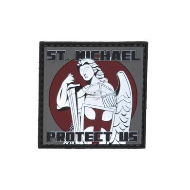 Nášivka velcro ST.MICHAEL PROTECT US plastová