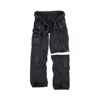 Kalhoty odepínací ROYAL OUTBACK - ROYAL BLACK