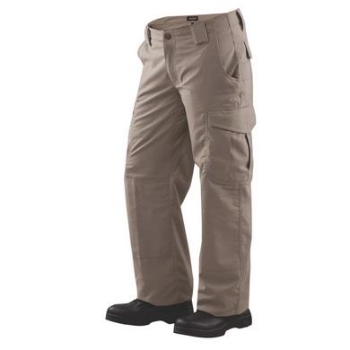Kalhoty dámské 24-7 ASCENT micro rip-stop KHAKI