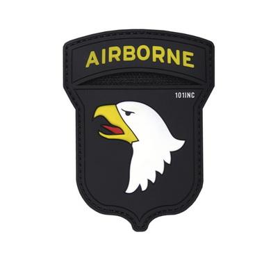 Nášivka 3D plastová AIRBORNE 101 barevná