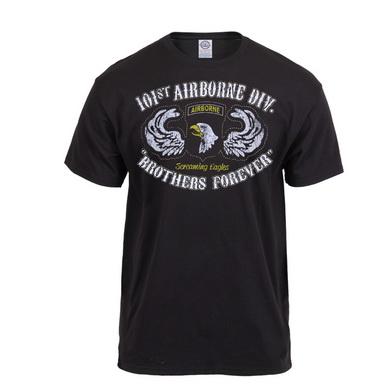 Triko 101st Airborne Division ÈERNÉ