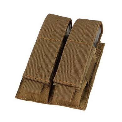 Sumka MOLLE dvojitá na zásobník M9 COYOTE BROWN