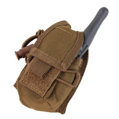 Pouzdro MOLLE HHR na rádio COYOTE BROWN