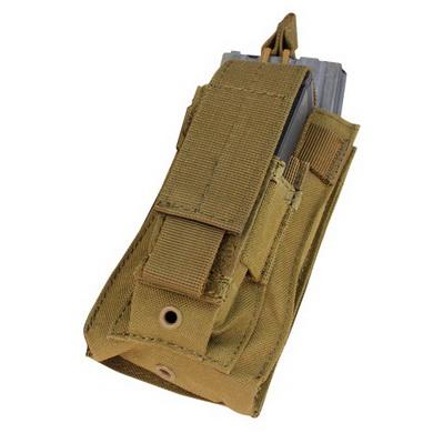 Sumka MOLLE KANGAROO na zásobník M4+M16 COYOTE