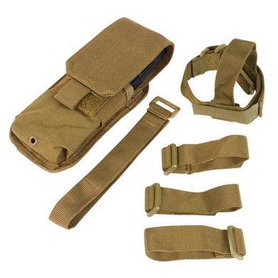 Sumka MOLLE na zásobník M16 k pažbì COYOTE BROWN