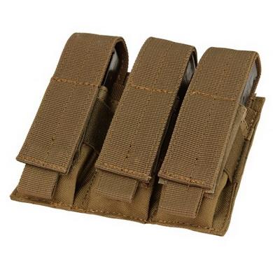 Sumka MOLLE trojitá na zásobníky M9 COYOTE BROWN