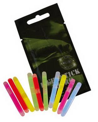 Svìtlo chemické MICRO 10ks v balení 5 druhù barev